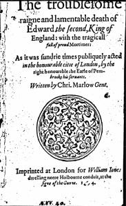 EdwardII(1594)
